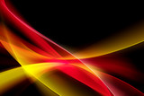 Colorful Light Abstract Waves Background