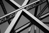 Estrura da ponte D. Luis no Porto