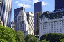 Центральный парк и Midtown Манхэттена горизонты, Нью-Йорк