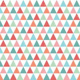 seamless hipster geometric pattern bright pastel colors
