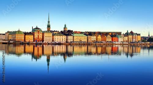 Staande foto Stockholm Stockholm city