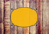 Wooden Fence Abstract Blank Copy Space Concept