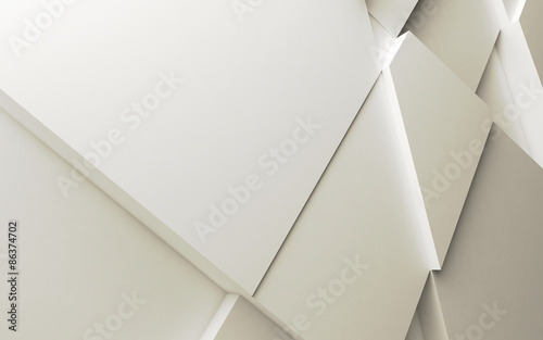 Geometric color abstract polygons © dymentyd