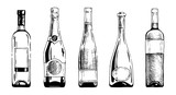 Fototapety Wine bottle