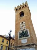 Fototapeta Recanati la Torre Civica - Marche