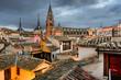 Toledo Spain Rooftop View