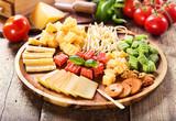 Fototapeta cheese plate