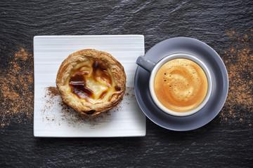 Tasse à Café et Pastel de nata du Portugal