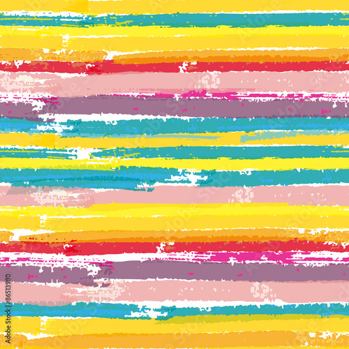 Seamless pattern with paint color stripes