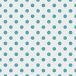 Tile vector pattern with blue polka dots on grey background