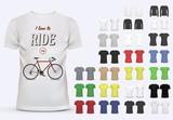 Fototapety T-shirt template set for men and women