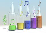 flessen muziek