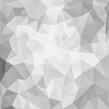 Fototapety abstract white background, low poly textured triangle shapes in random pattern, trendy lowpoly background