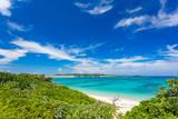 沖縄伊平屋島の海