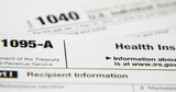 Obamacare IRS tax form 1095 - 86611984