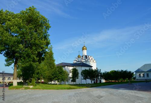 Постер, плакат: Православные храмы России, холст на подрамнике