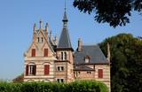Fototapeta France, Yvelines, Bouvaist manor in Les Mureaux
