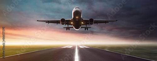 mata magnetyczna Samolot w locie