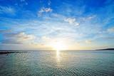 Beautiful sunset and clouds, Okinawa, Japan - Fine Art prints