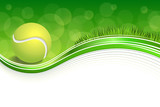 Fototapety Background abstract green grass sport white tennis yellow ball frame illustration vector