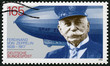 ������, ������: GERMANY 1992: shows Ferdinand Graf Von Zeppelin 1838 1917 German general and Airship Builder electrical engineer