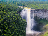 Fototapety Kaieteur Falls, a waterfall on the Potaro River in central Essequibo Territory, Guyana, South America