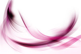 Amazing Pink Fractal Waves Art Abstract Background