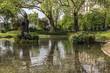 Clichy-Batignolles park in the Batignolles district.