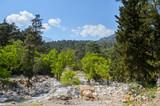 Beautiful landscape of the Taurus mountains in Turkey