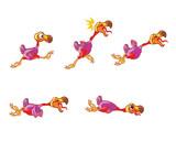 Falling Dodo Animation Sprite