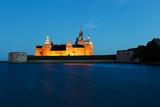 Fototapeta Schloss Kalmar im Wasser