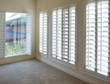 White style wood Shutters for luxury Interior Design in condo. - 86950520