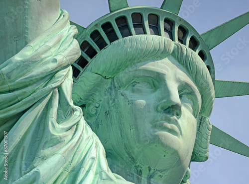 Poster Statue of Liberty, Liberty Island, New York City