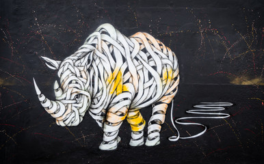 Rhinoceros tag