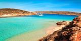 The Blue Lagoon on Comino Island, Malta Gozov - 87044126