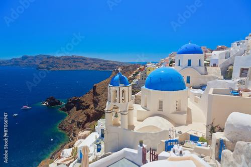 Foto op Canvas Europa Oia, Santorini island, Greece