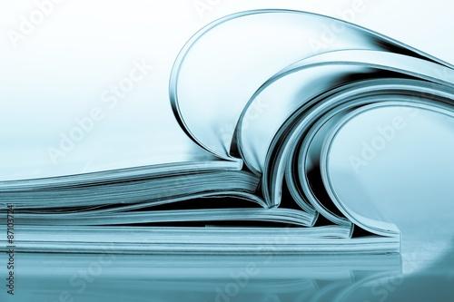 Magazine, publication, livre. Poster
