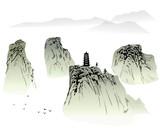 Fototapety  Chinese landscape painting