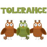 Tolerance vector illustration poster