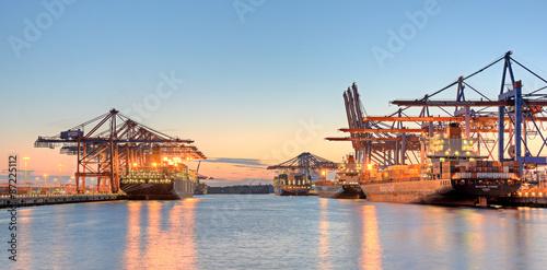 Containerhafen Poster