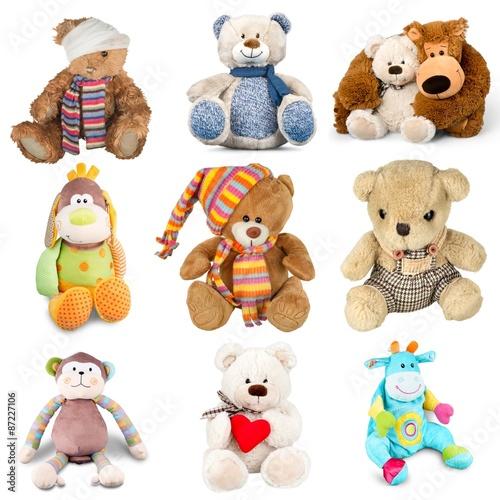 Teddy Bear, Toy, Stuffed Animal.