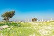 Roman ruins of Umm Qais in northern Jordan.