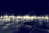 abstract blocks city - 87363327