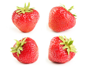 Strawberry isolated on a white © 5second