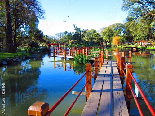 Panel Szklany Jardin Japonais de Buenos Aires