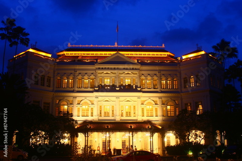 Singapore Architecture and Design, Raffles Hotel