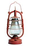 Fototapety old kerosene lamp isolated on white background