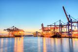 Hamburger Container Hafen
