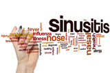 Sinusitis word cloud
