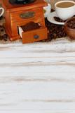 Kaffee mit Textfreiraum - 87532100